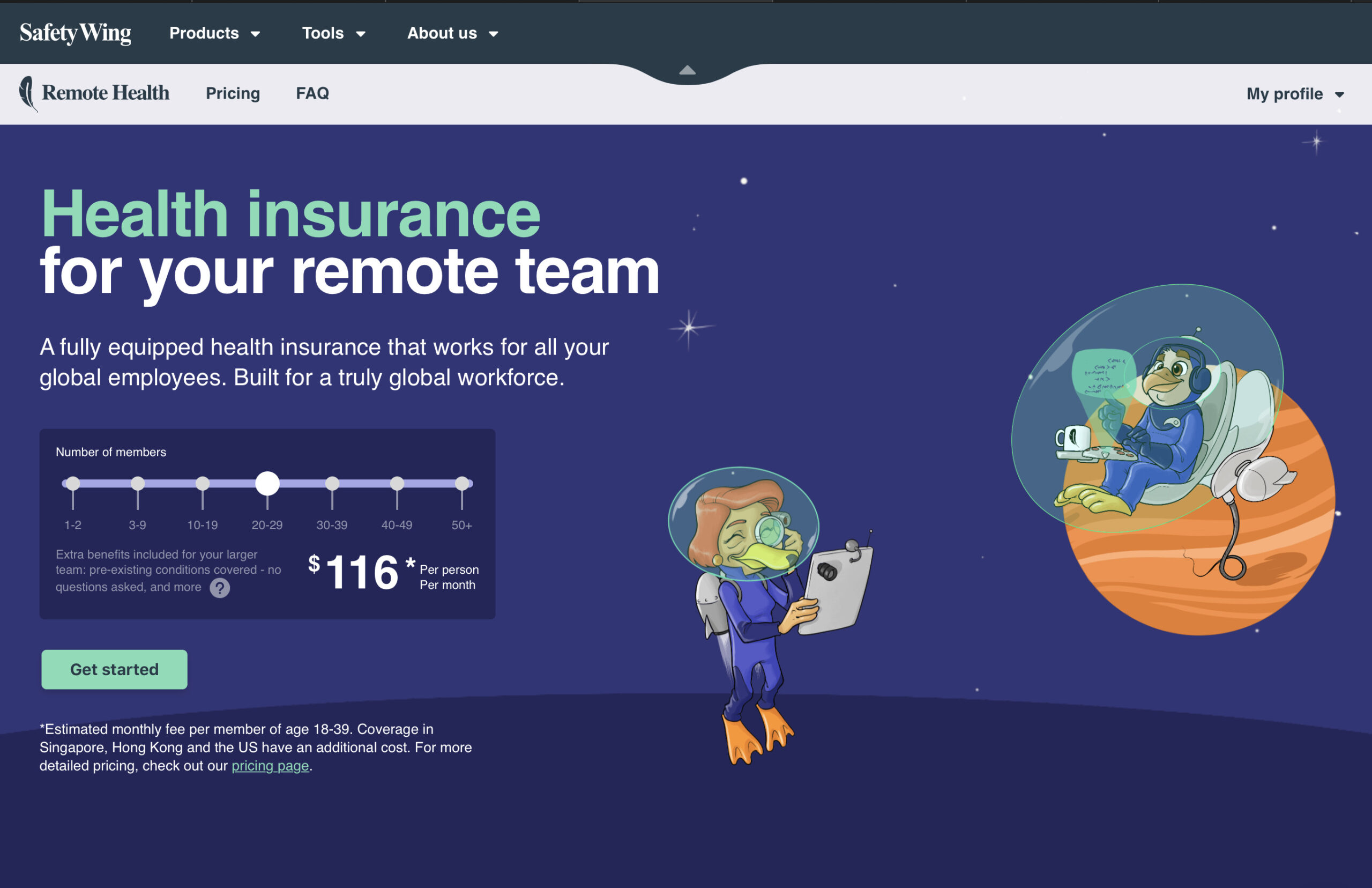 SafetyWing Remote Health Review